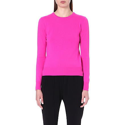 CHRISTOPHER KANE Long sleeve cashmere jumper (Pink