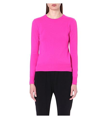 CHRISTOPHER KANE Long sleeve cashmere jumper (Pink