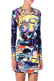 CHRISTOPHER KANE Brain-print dress