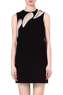 CHRISTOPHER KANE Triple petal shift dress
