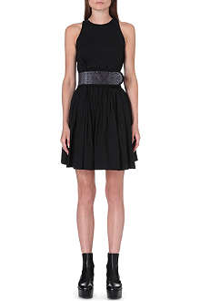 CHRISTOPHER KANE Sleeveless cotton-blend dress