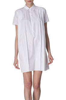CHRISTOPHER KANE Pleated shirt dress