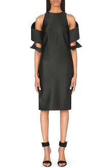 CHRISTOPHER KANE Spiral-sleeve corded dress