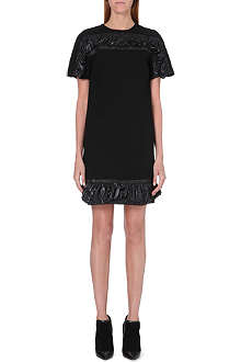 CHRISTOPHER KANE Ruched-detail wool dress