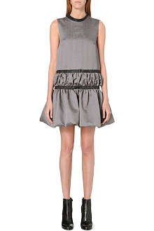 CHRISTOPHER KANE Ruched-hem sleeveless dress