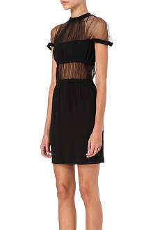 CHRISTOPHER KANE Sheer panelled dress