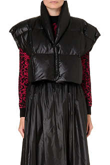 CHRISTOPHER KANE Sleeveless puff jacket