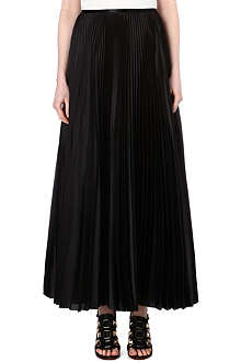 CHRISTOPHER KANE Shower pleat maxi skirt
