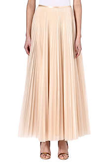 CHRISTOPHER KANE Pleated maxi skirt