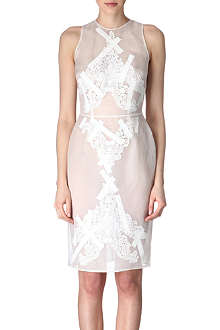 CHRISTOPHER KANE Taped organza dress