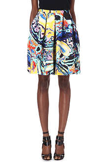 CHRISTOPHER KANE Princess Brain silk skirt