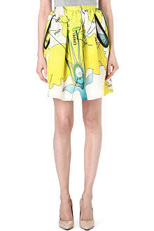CHRISTOPHER KANE Carnation Princess mini skirt
