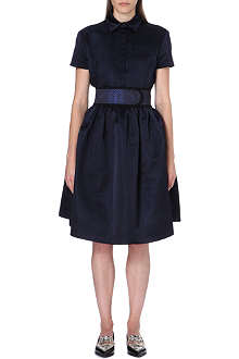 CHRISTOPHER KANE Flared silk dress