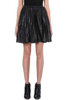 CHRISTOPHER KANE Pleated A-line mini skirt