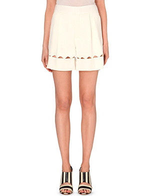 CHLOE Cut-out detail shorts