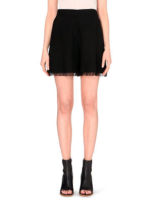 CHLOE Fringed shorts