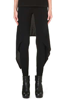 GARETH PUGH Back-skirt jersey trousers