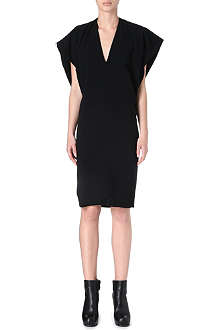 GARETH PUGH V-neck crepe dress