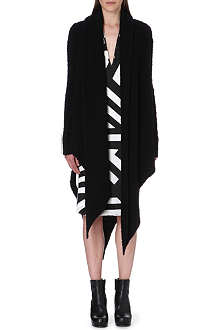 GARETH PUGH Draped wool-blend coat