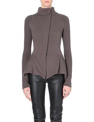 GARETH PUGH Geometric-detail cotton jacket