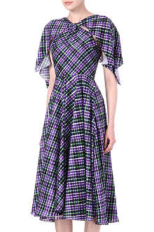 ROKSANDA ILINCIC Elwood check-print dress