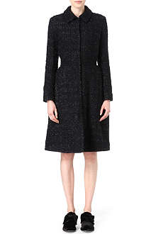 SIMONE ROCHA Sparkle tweed coat