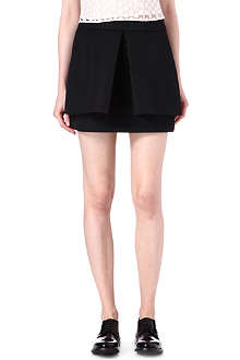 SIMONE ROCHA Wafer-mesh pleated skirt