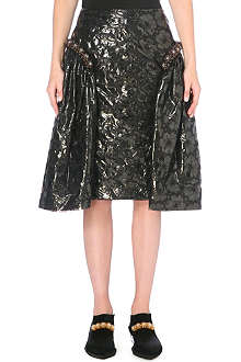 SIMONE ROCHA Beaded floral skirt