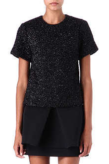 SIMONE ROCHA Tinsel-knit top