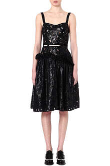 SIMONE ROCHA Coated lace dress