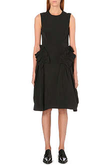 SIMONE ROCHA Frilled taffeta dress