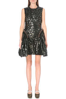 SIMONE ROCHA Beaded floral shift dress