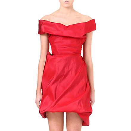 VIVIENNE WESTWOOD Cocotte silk dress (Red