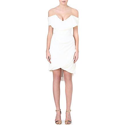 VIVIENNE WESTWOOD Cocotte draped silk dress (Ivory