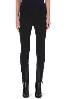 MONCLER Stretch-crepe trousers