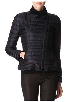 MONCLER Ladis padded biker jacket