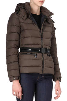 MONCLER Padded belted jacket