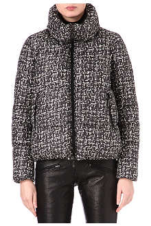 MONCLER Sherry tweed-effect padded jacket