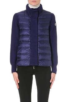 MONCLER Puffer cardigan jacket