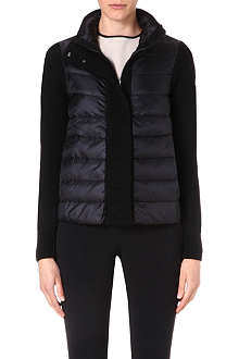 MONCLER Classic quilted cardigan