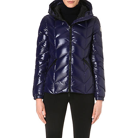 MONCLER Badete padded hooded jacket (Royal