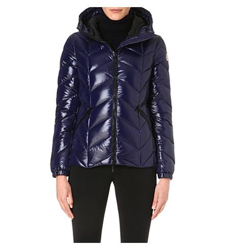 MONCLER Badete padded hooded jacket (Royal
