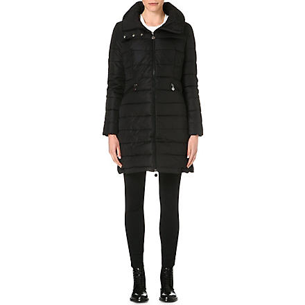 MONCLER Classic quilted coat (Black