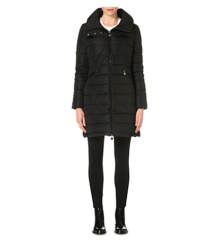MONCLER Flamme down-quilted coat (Black