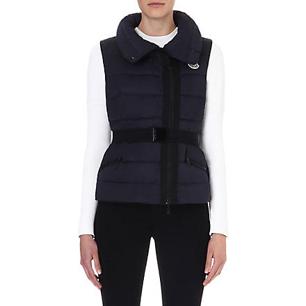 MONCLER Labas quilted gilet (Navy