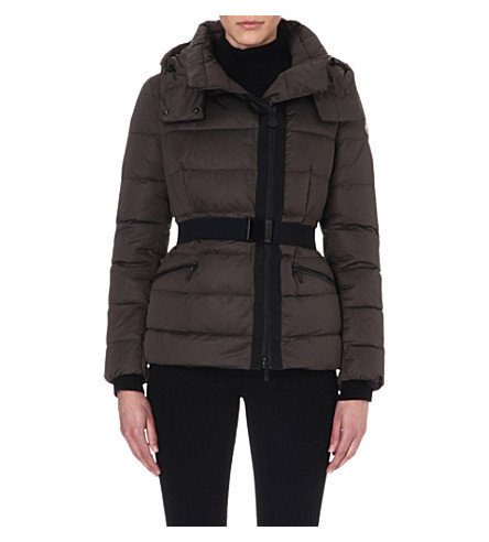 MONCLER Lavaud quilted jacket (Olive
