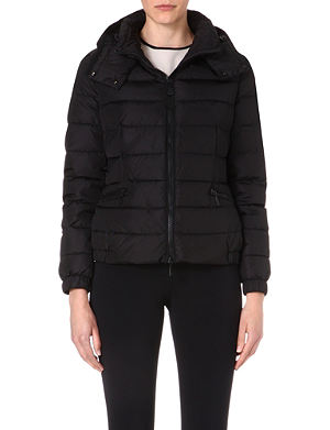 MONCLER Hooded quilted jacket