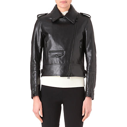 BELSTAFF Leather biker jacket (Black