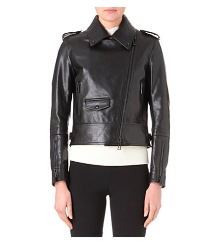 BELSTAFF Leather biker jacket (Black