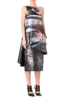 MARY KATRANTZOU Fauwinding bustier dress
